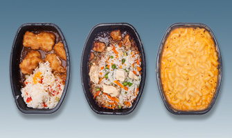 Continuous Inkjet applications for Frozen Prepared Meals