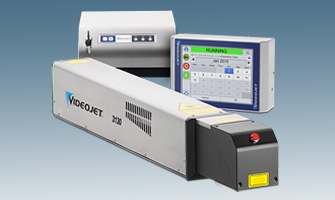 Videojet 3130 10W CO2 Laser Marking System for Printing on Paperboard Containers