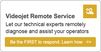 Learn how Videojet Remote Service can help minimize your downtime