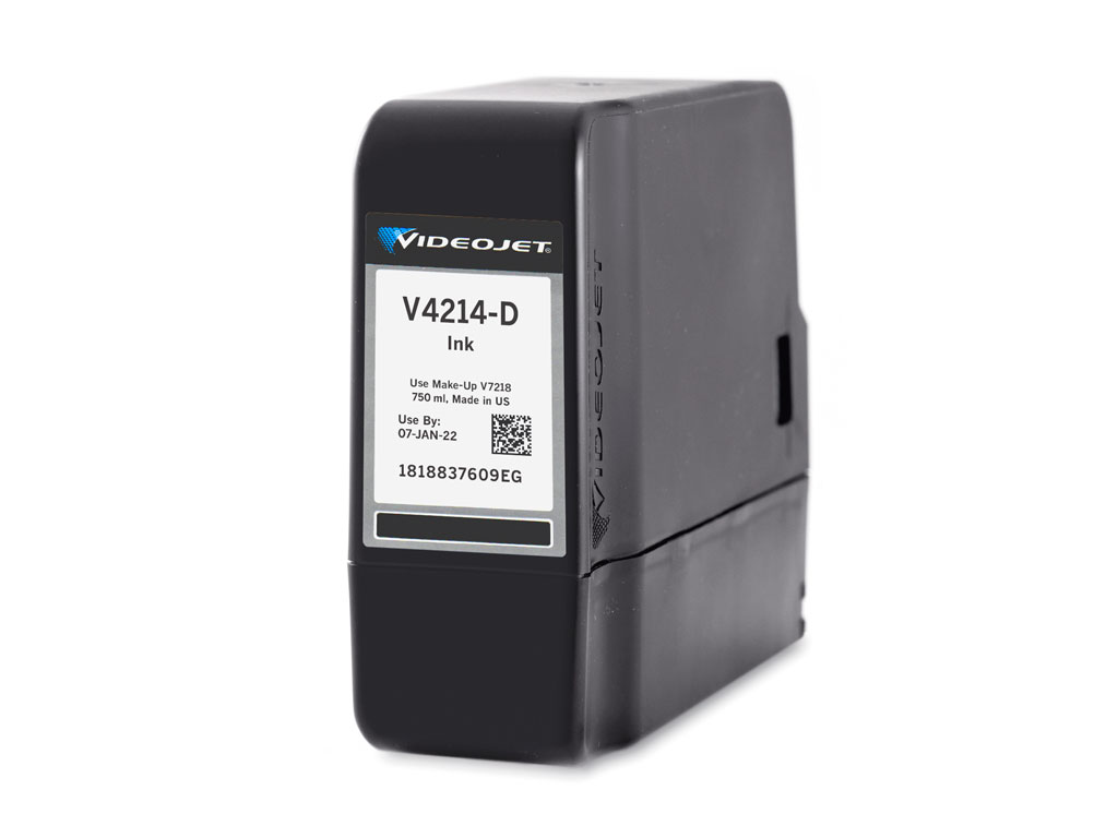 V4214-D Videojet 1580 and 1860 Ink